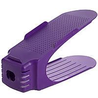 Подставка для обуви Double Shoe Racks Фиолетовая 184120