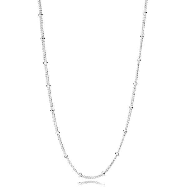 Пандора Колье из серебра и бусинок Pandora 397210-70