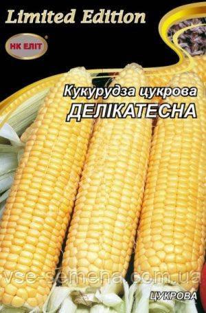 Кукурудза Делікатесна, цукрова 20 р (НК Еліт)