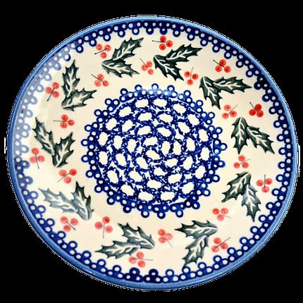Керамическая тарелка десертная, закусочная  Ø19 Oak leaves, фото 2