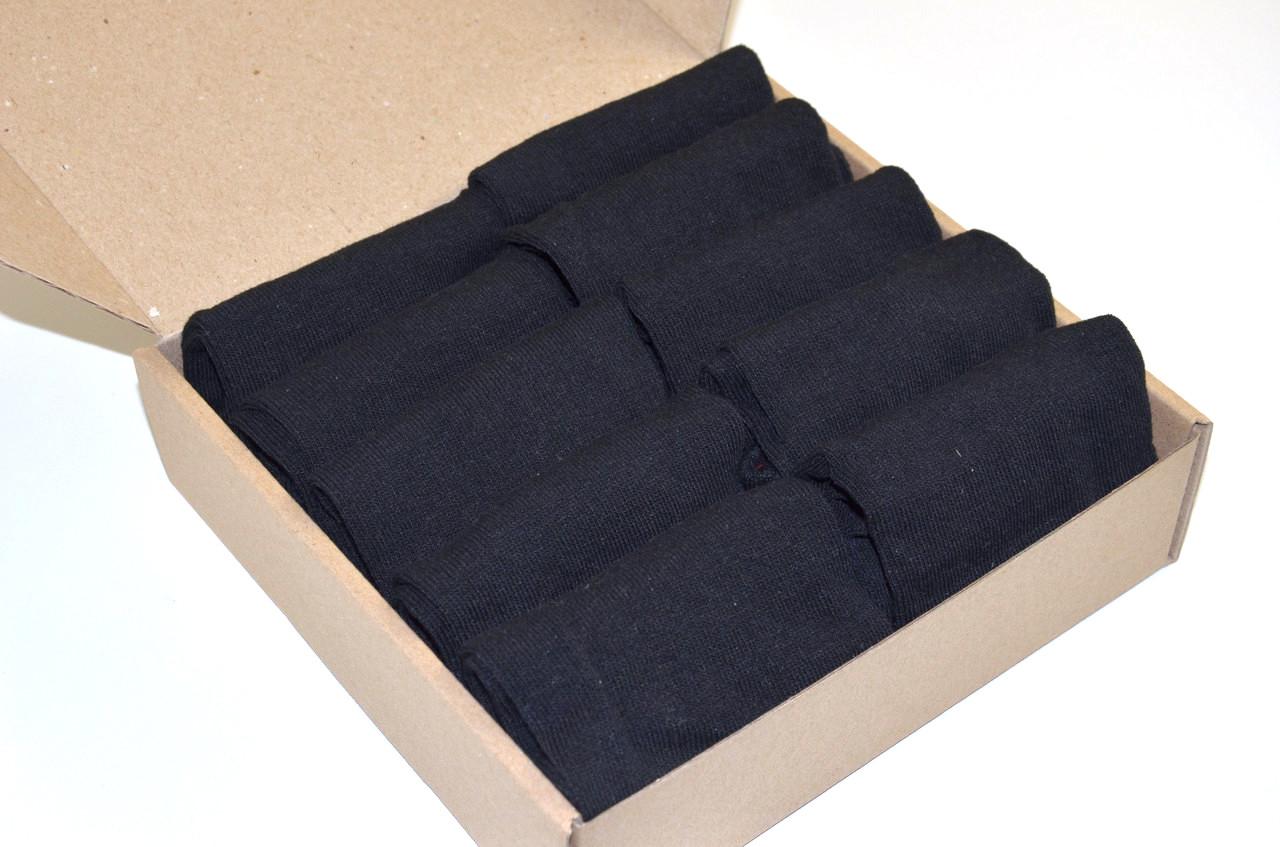 Шкарпетки укорочені , Набір №101 - 10 пар в комплекті, р. 39-42
