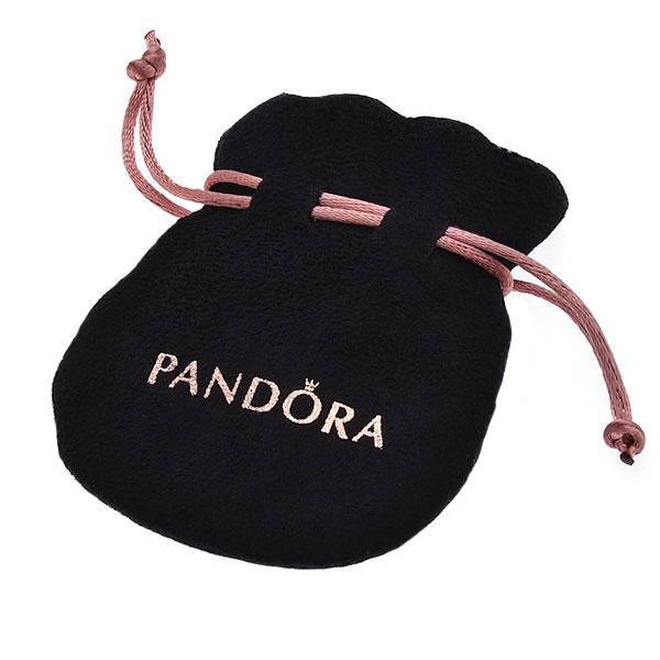 Пандора Мешочек для шармов с розовой ленточкой Pandora pouch