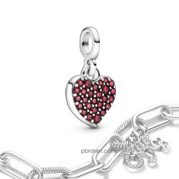 """Пандора Подвеска """"Моя любовь"""" на браслет Pandora Me 798981C01"""