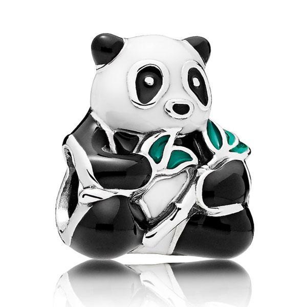Пандора Подвеска-шарм Милая панда Pandora 796256ENMX