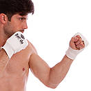 Накладки (перчатки) для каратэ Daedo 0009 (PL, хлопок, эластан, размер M, белый), фото 4