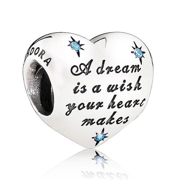 "Пандора Шарм ""Мечта Золушки"" Дисней Pandora 791593CFL"