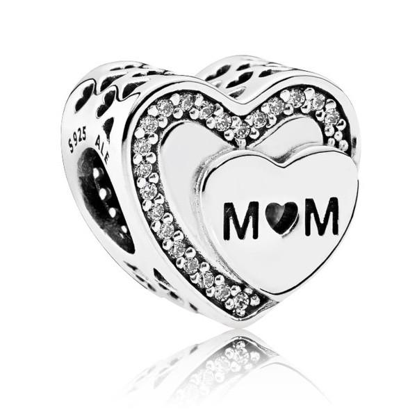 """Пандора Шарм """"Награда для мамы"""" Pandora 792070CZ"""
