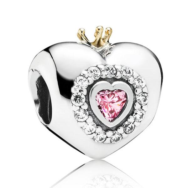 Пандора Шарм «Сердце принцессы» Pandora 791375PCZ