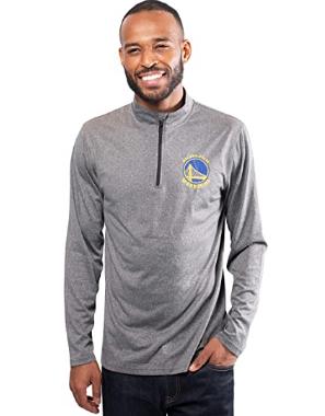 Спортивная кофта Ultra Game NBA Men's Quarter-Zip Pullover - Heather Charcoal19  (XX-Large)