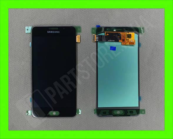 Дисплей модуль Samsung SM A510 OLED A5 Black 2016, фото 2