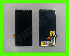 Дисплей модуль Samsung SM A530 OLED A8 Black 2018