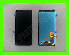 Дисплей модуль Samsung SM A730 OLED A8 Plus Black 2018