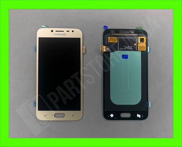 Дисплей модуль Samsung SM J250 OLED J2 Gold 2018, фото 2