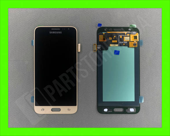 Дисплей модуль Samsung SM J320 OLED J3 Gold 2016, фото 2