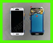 Дисплей модуль Samsung SM J500 OLED J5 White 2015