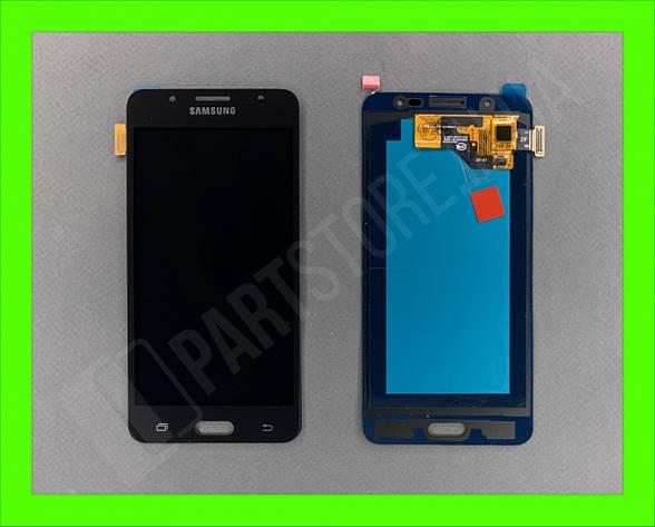 Дисплей модуль Samsung SM J510 OLED J5 Black 2016, фото 2