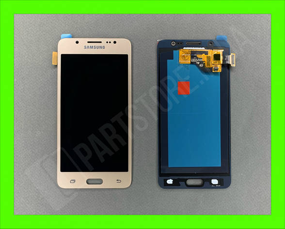Дисплей модуль Samsung SM J510 OLED J5 Gold 2016, фото 2