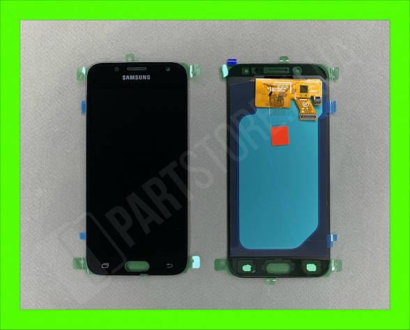Дисплей модуль Samsung SM J530 OLED J5 Black 2017, фото 2