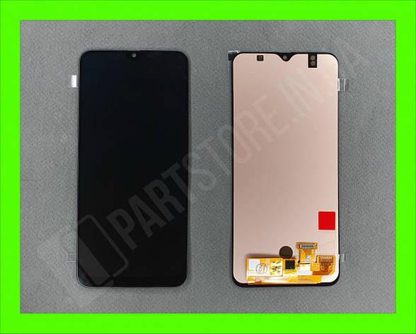 Дисплей модуль Samsung SM A505 OLED A50 Black 2019, фото 2
