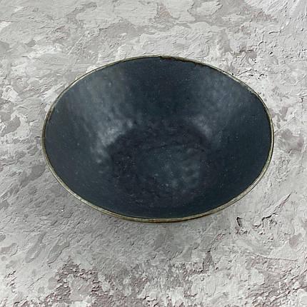 Салатник OLens Космос JM-1536-В 17,5х5 см серый, фото 2