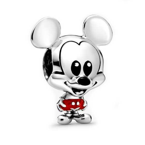 Пандора Шарм Микки Маус в красных брючках Disney Pandora 798905C01