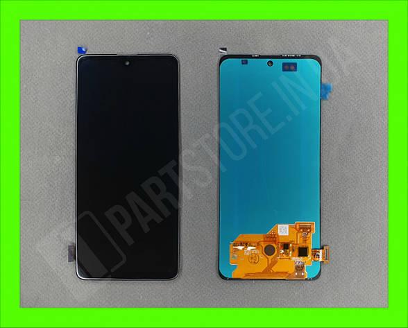 Дисплей модуль Samsung SM А515 OLED А51 Black 2020, фото 2