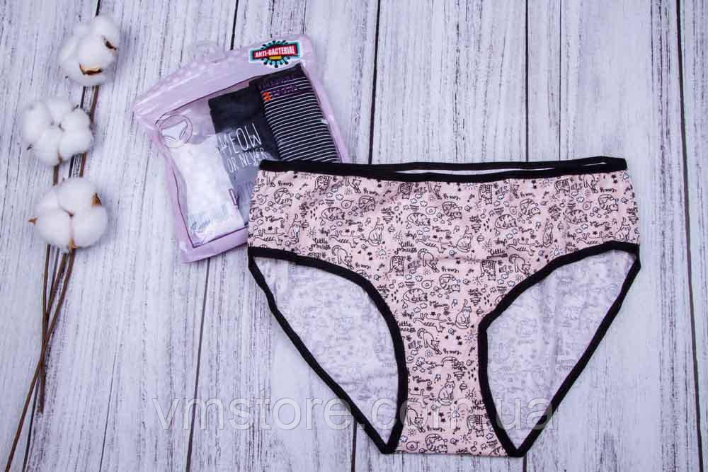 Набір жіночих трусів сліпи, 3 штуки в упаковці, розмір S-M