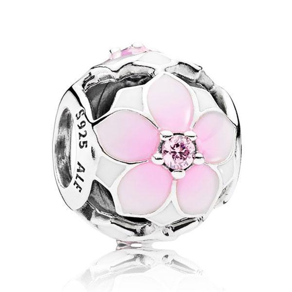 Пандора Шарм Розовая Магнолия Pandora 792087PCZ
