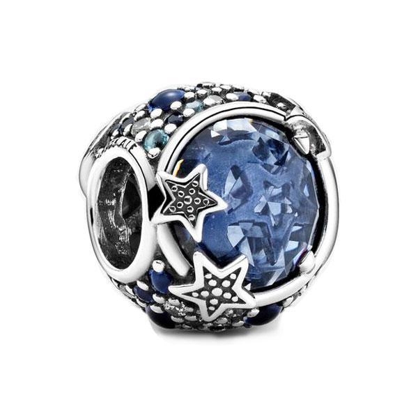 Пандора Шарм Синее небо и блестящие звезды Pandora 799209C01