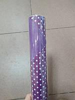 Папір двосторонній в горошок 70*10м. 2520-10