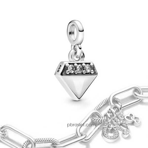Пандора Шарм-подвеска Мой яркий бриллиант Pandora ME 798368CZ