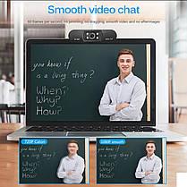 Веб камера ASHU H800 со встроенным микрофоном USB 2.0 1080P для видео звонков, фото 2