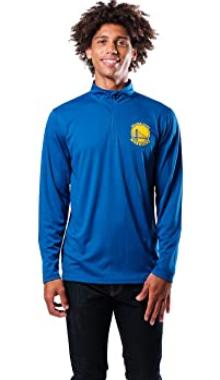 Спортивная кофта Ultra Game NBA Men's Quarter-Zip Pullover - Blue (XXL)