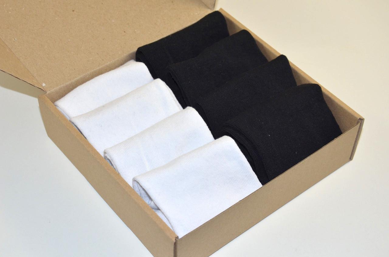 Женские носки укороченные , Набор №028, 8 пар в комплекте, р.36-39
