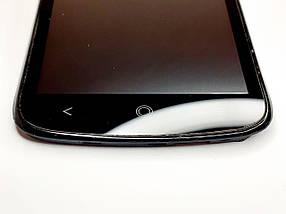 Модульный дисплей черный Acer Liquid E2 Duo V370 оригинал б.у., фото 2