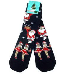 Шкарпетки чоловічі теплі НОВОРІЧНІ Крокус розмір 42-45 темно-сині