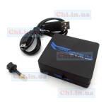 Переходник HDMI-HDMI + выход аудио звук (аналоговый и цифровой)