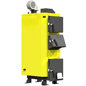 Сталевий твердопаливний котел KRONAS UNIC потужністю 30 кВт
