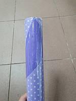 Папір двосторонній в горошок 70*10м. 2520-5