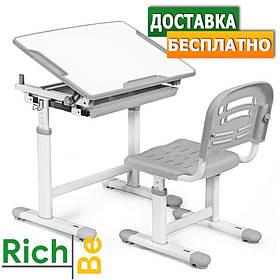 Комплект парта и стулья для детей Evo-kids Evo-06