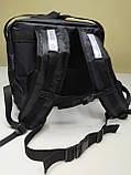 Рюкзак, термосумка для доставки їжі з відділенням для коробок на піцу 32*32 см, фото 10