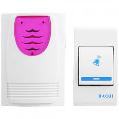 Дзвінок їв. Baoji J203 багатомелодійний дистанційний батарейка 990632
