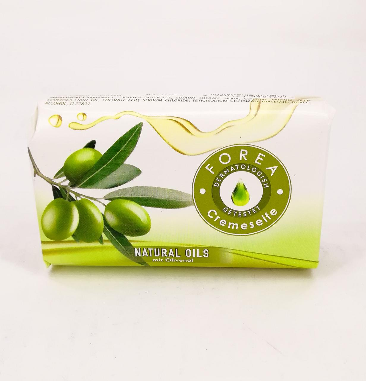 Forea Naturals Olive Soap кусковое мыло Натуральные оливки