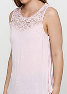 Майка с кружевом HM S светло-розовый 12-6134597, фото 3