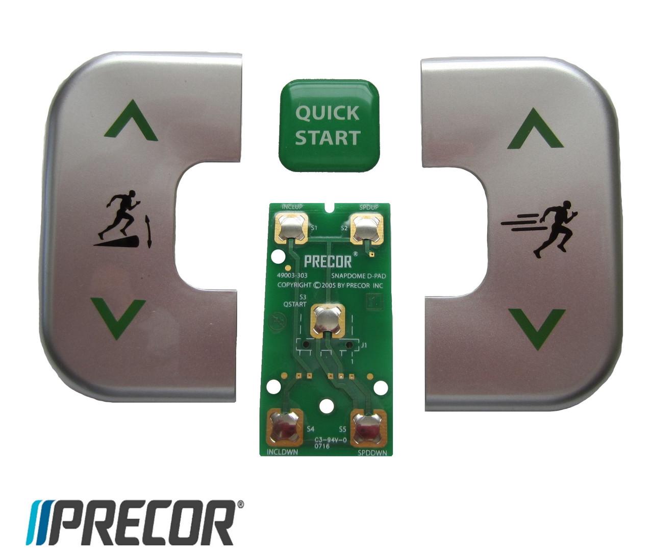 Комплект кнопок управления Precor D-PAD (ремкомплект в сборе)