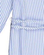 Блуза HM 32 бело-голубой в полоску 6392037RP3, фото 4
