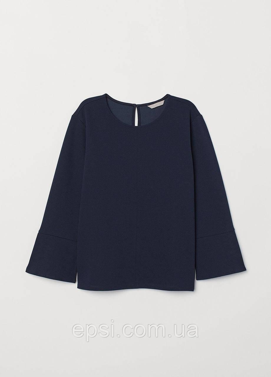 Блуза HM S темно-синий 6941539RP3