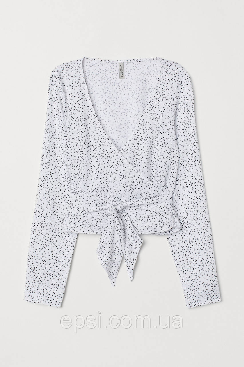 Блуза HM 34 белый в горошек 7009269RP2