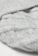Набор (шапка, перчатки) HM One Size светло-серый меланж 6777368RP2, фото 2