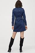 Платье джинсовое HM 46 синий 7473450RP4, фото 3
